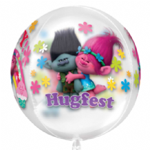 "Trolls Orbz Balloon (15"") 1pc"